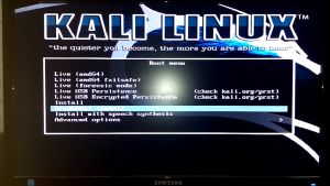dual boot kali linux with windows