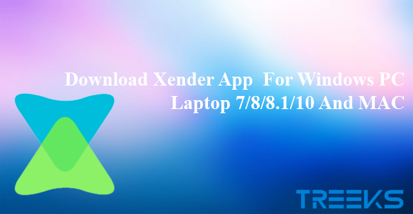 xender for pc download windows 10